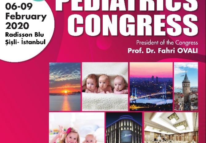 International Eurasia Pediatrics Congress (INEPCO)  6-9 February 2020