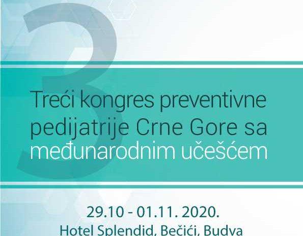 Treći kongres preventivne pedijatrije Crne Gore sa međunarodnim učešćem