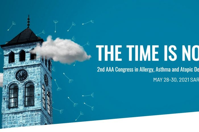2nd AAA Congress in Allergy, Asthma and Atopic Dermatitis MAY 28-30, 2021 SARAJEVO